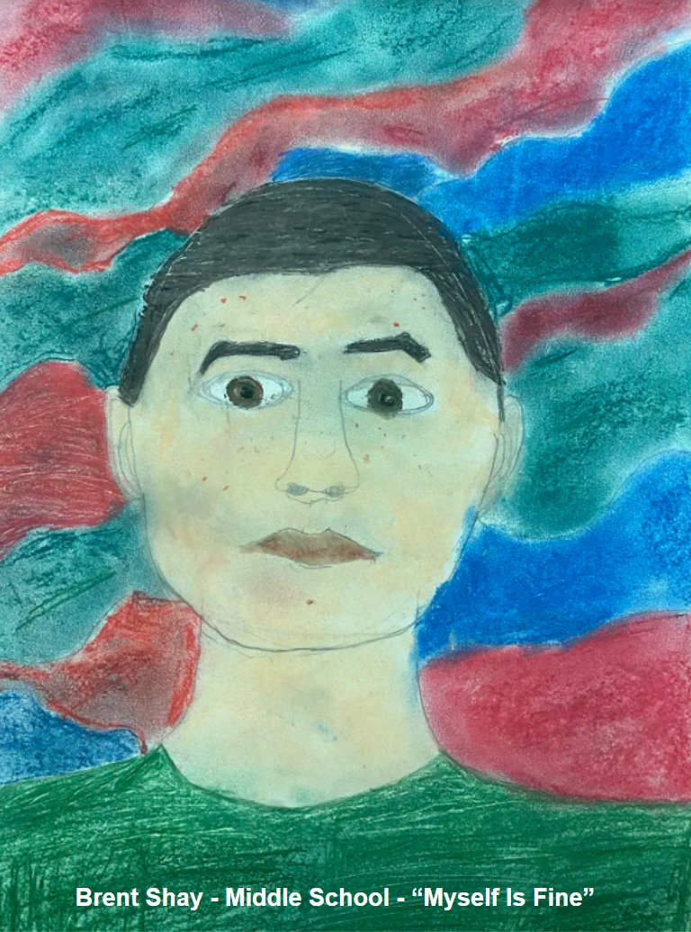 Bent Shay - Middle School - Self Portrait