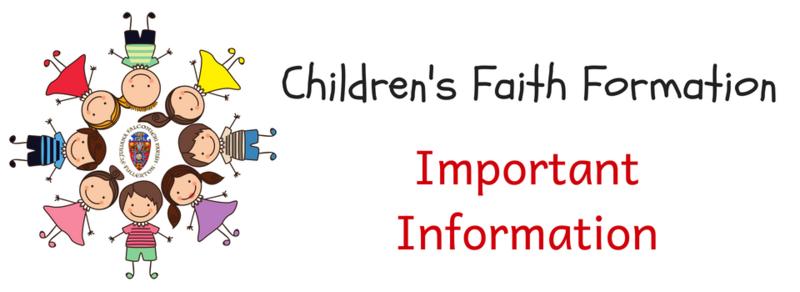 Children's Faith Formation Featured Photo