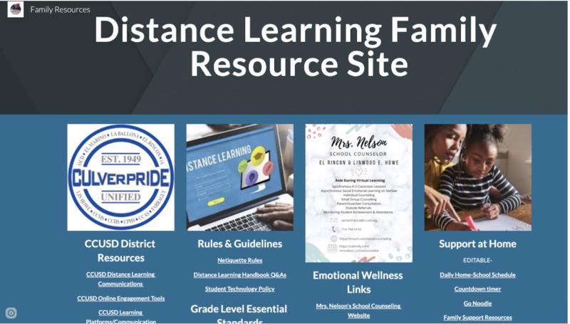 El Rincon Families Resources Site Featured Photo