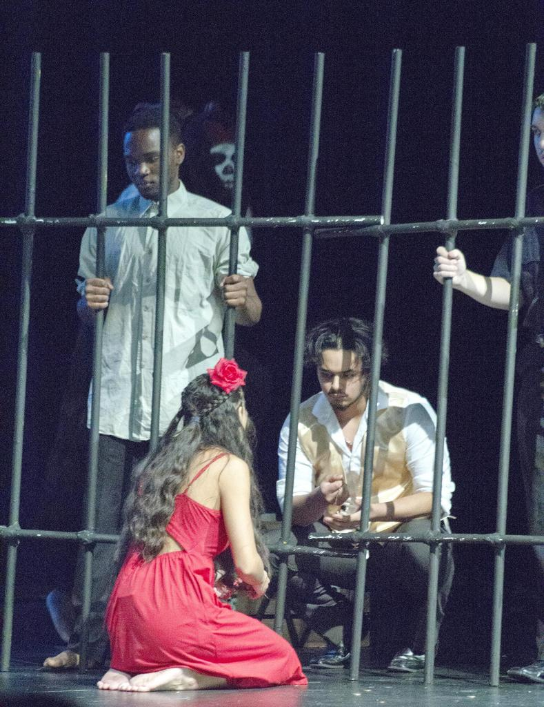 A scene from 'Once On This Island'