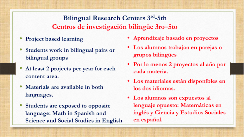Dual language slide 13