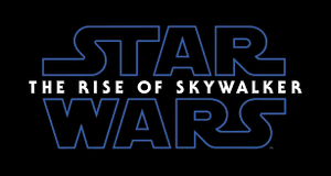 Rise Of Skywalker movie logo