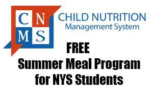 Free Summer Meal Program for Students