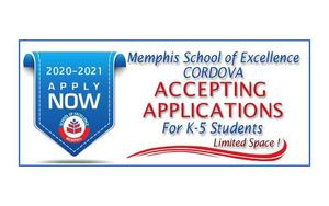 MSE Elementary Cordova - Accepting Applications -Limited Space!