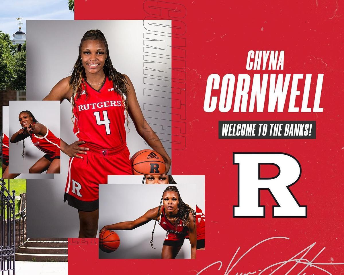Chyna at Rutgers
