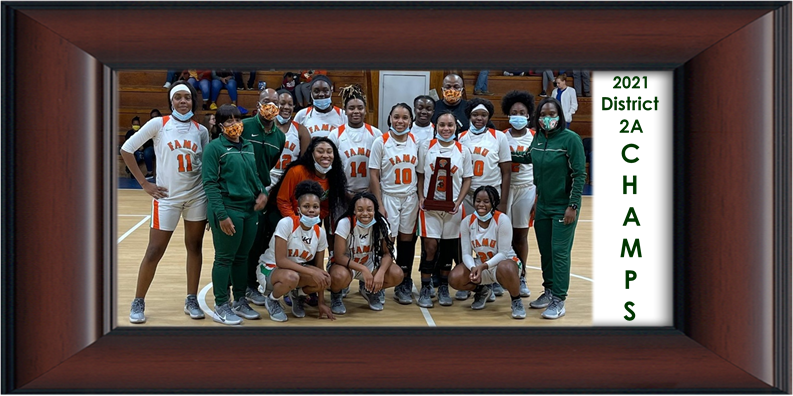 FAMU DRS Girls Basketball Win District 2A Championship Featured Photo