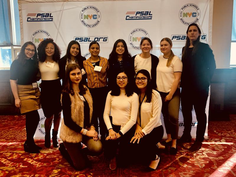 Maspeth High Student Athletes Celebrate Girls & Women In Sports Day Featured Photo