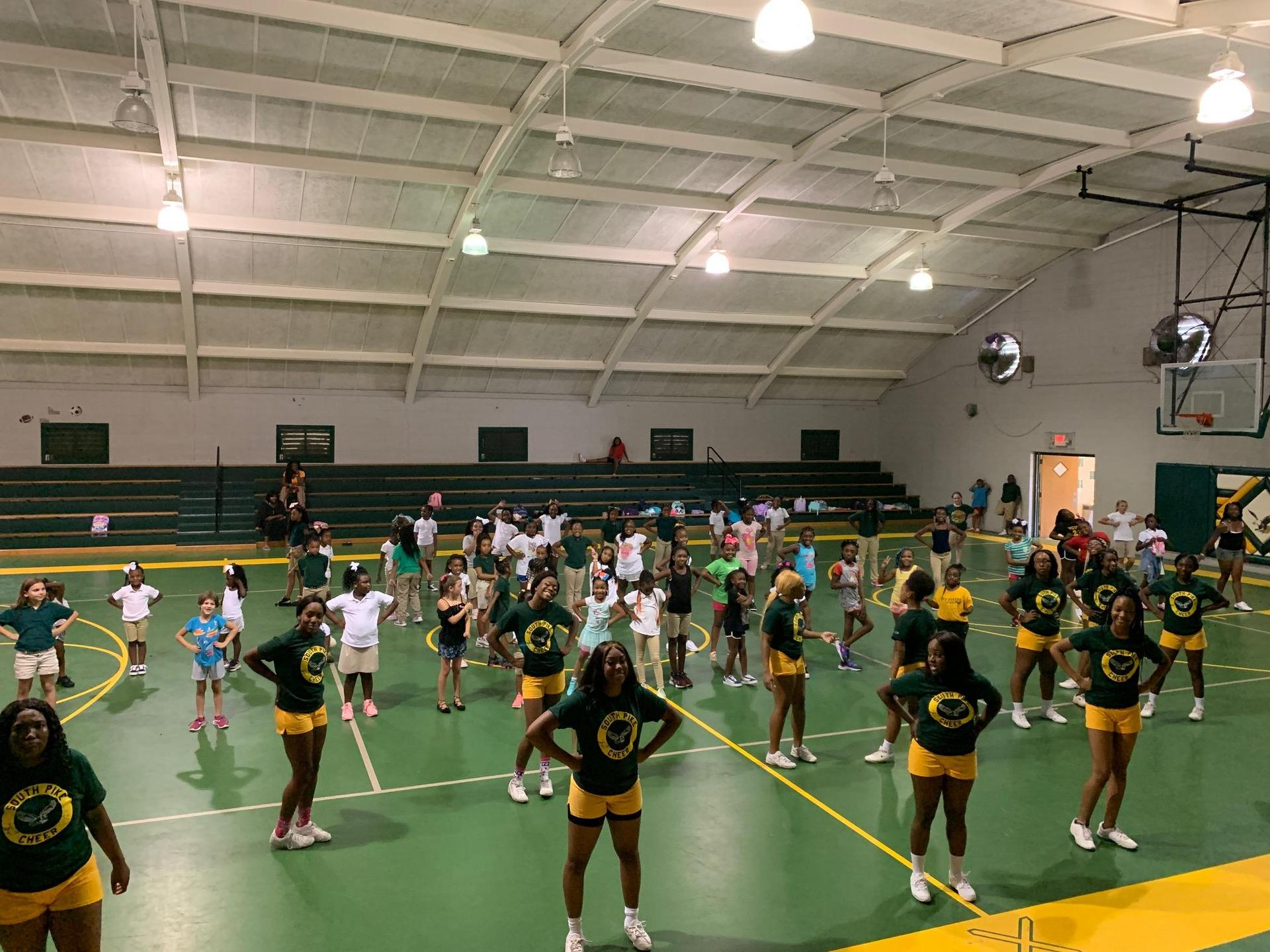 SPSD Baby Eagles Cheer Camp