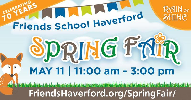 Join us for the 70th Annual Spring Fair this Saturday, May 11, 2019 Featured Photo