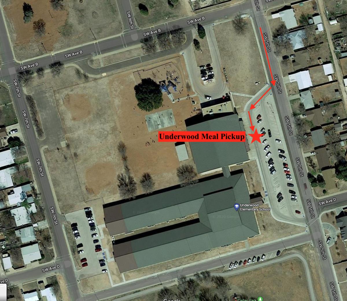 Underwood pick up location