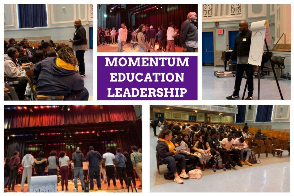 momentum education leadership banner