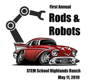 Rods & Robots May 11 logo