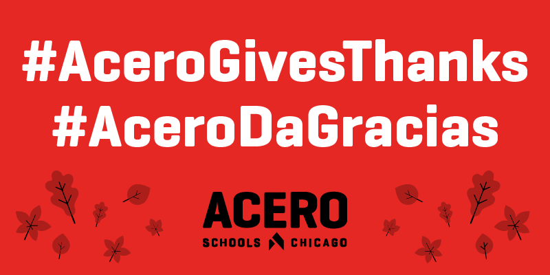 Click for a Thanksgiving message from Acero