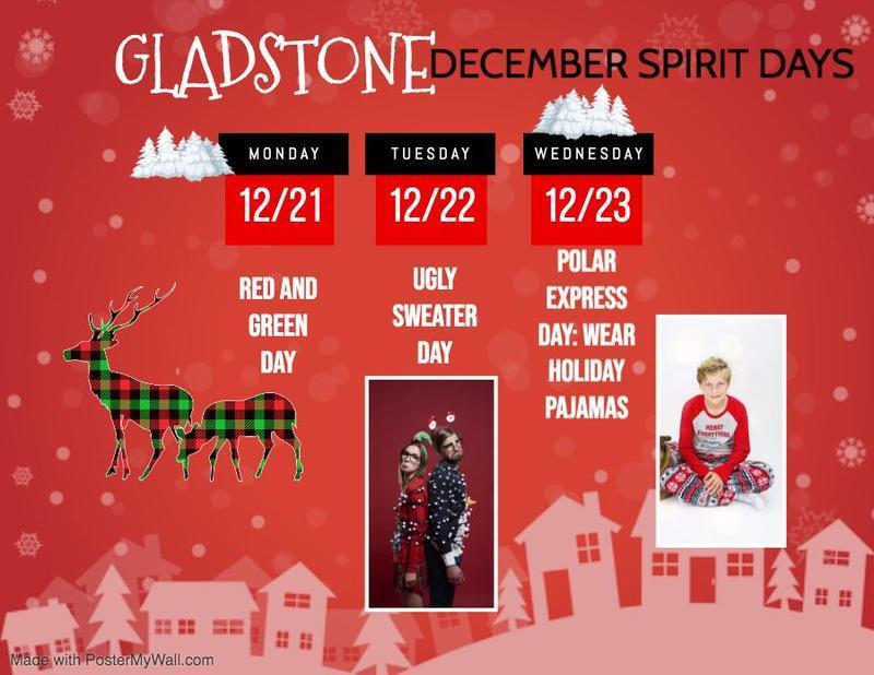 December Spirit Days Featured Photo