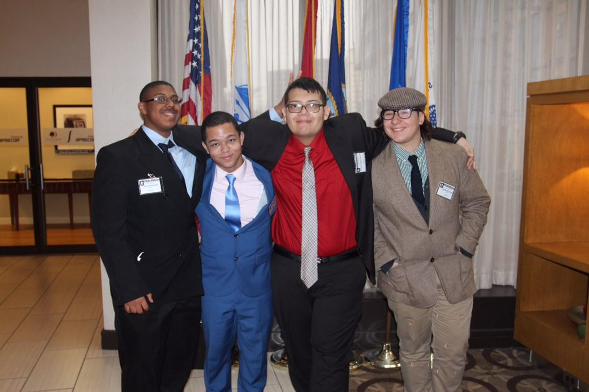 JSA Boys at Winter Debate