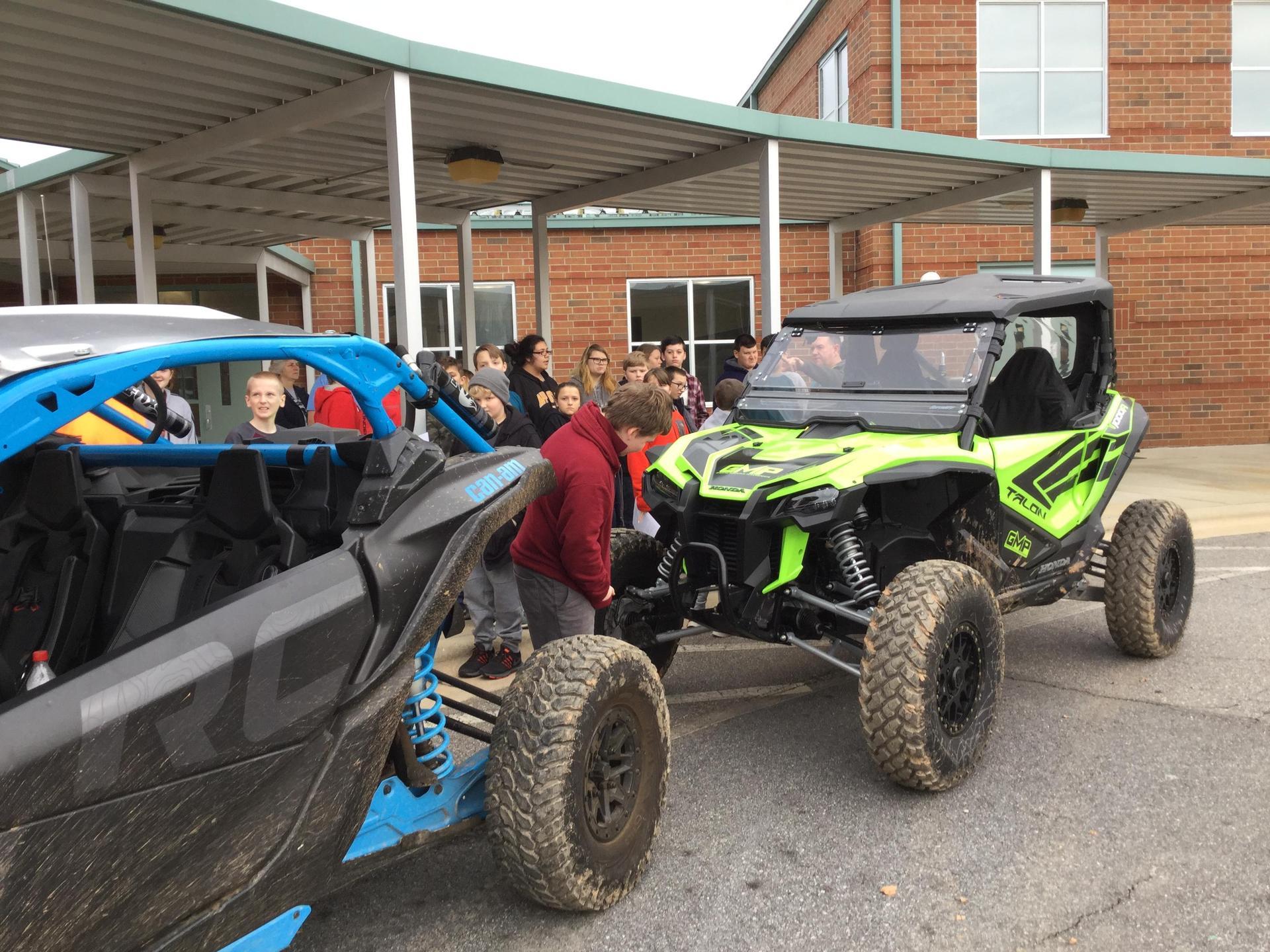 Greene's vehicles