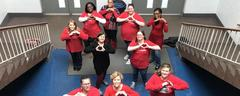 FCMS Staff supports Heart Healthy Month