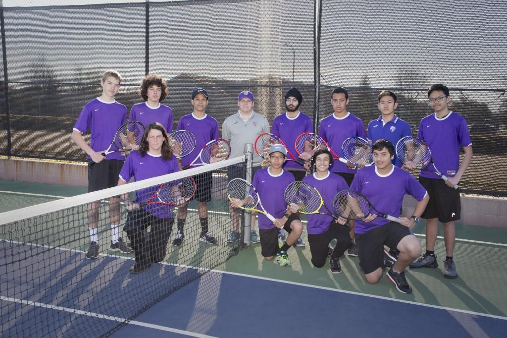 RHS JV Boys Tennis