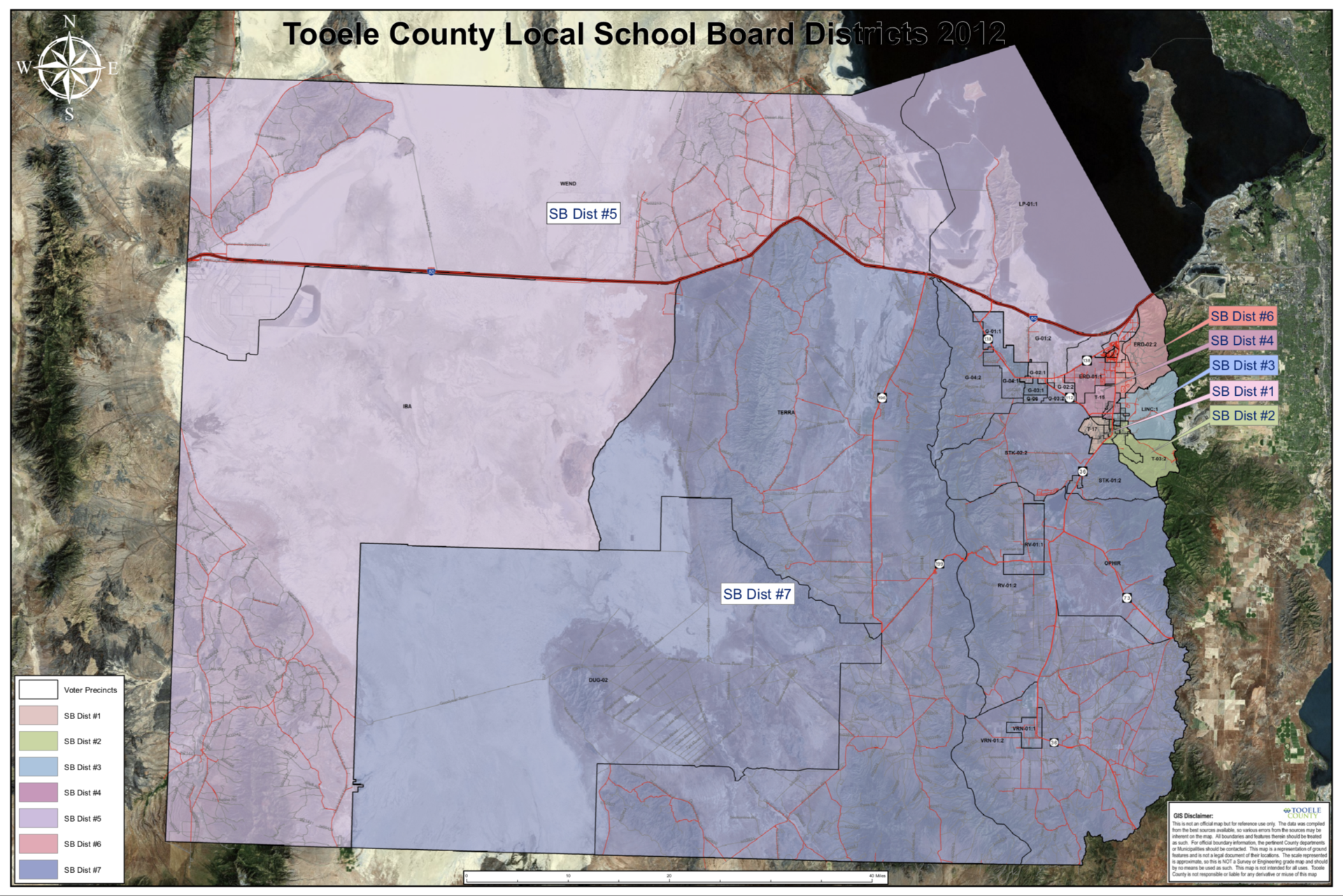 Tooele County Local School Bard Districts