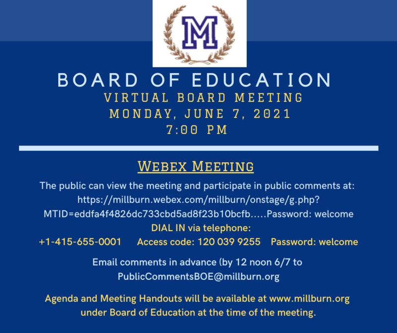 Board meeting announcment