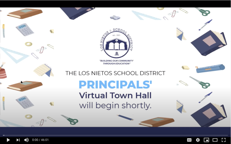 Virtual Principals' Town Hall Featured Photo