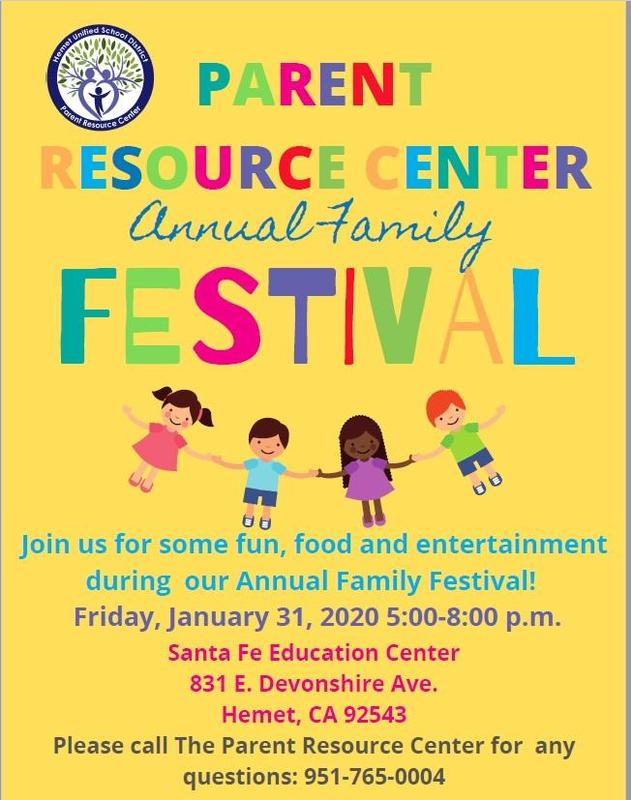 Family Festival Flyer