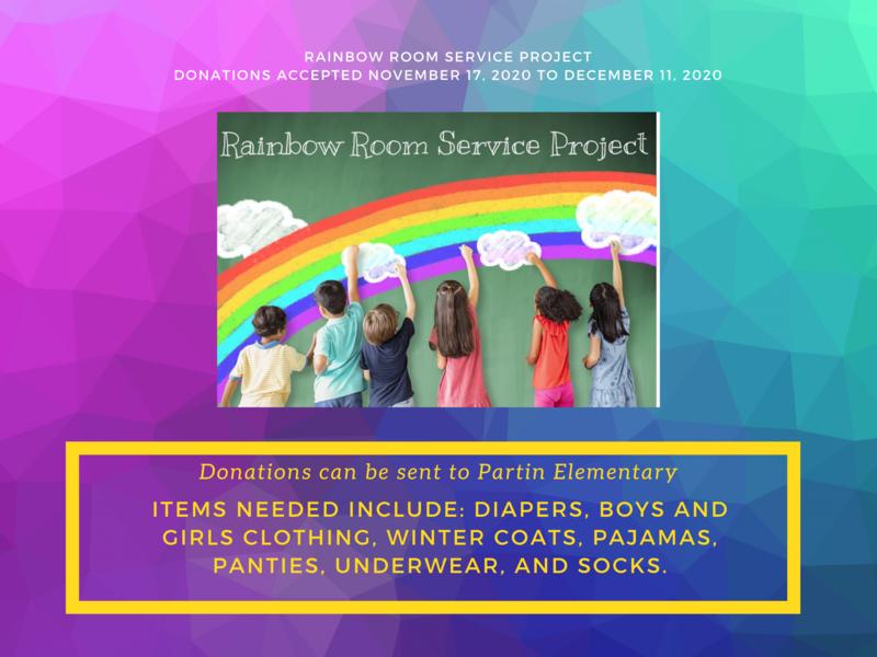 Rainbow Room Service Project Thumbnail Image