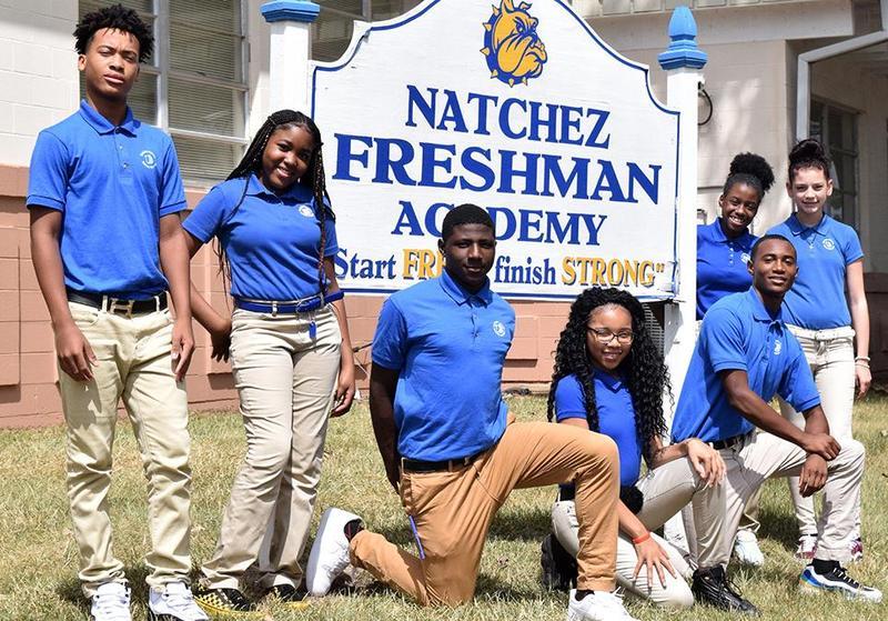 Natchez Freshman Students