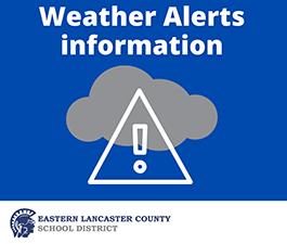 Weather Alert Information Announcement Image