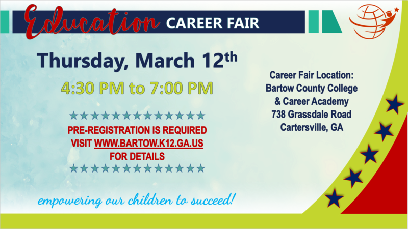 Education Career Fair Flyer