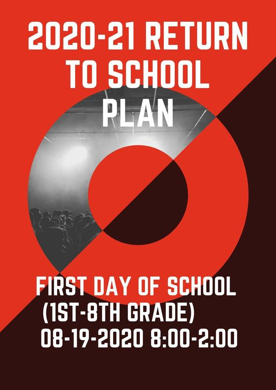 2020-21 Return to School Plan Featured Photo