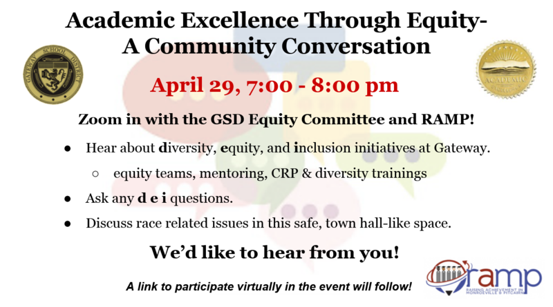 GSD Equity Committee teams up with RAMP via Zoom Thumbnail Image