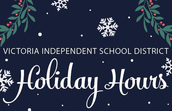 VISD Holiday Hours Thumbnail Image