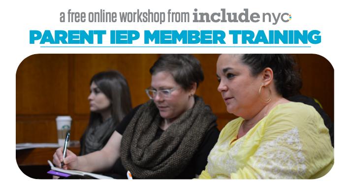 **Parent IEP Training, Free Workshop** Featured Photo