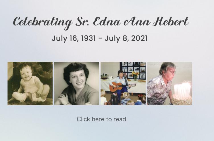 Celebrating Sister Edna Ann Hebert Featured Photo