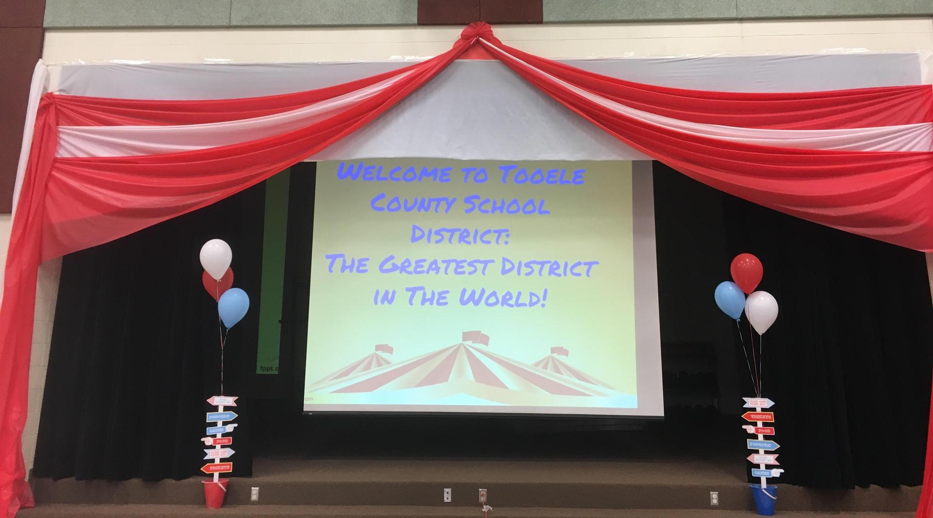 TCSD The Greatest District on Earth!