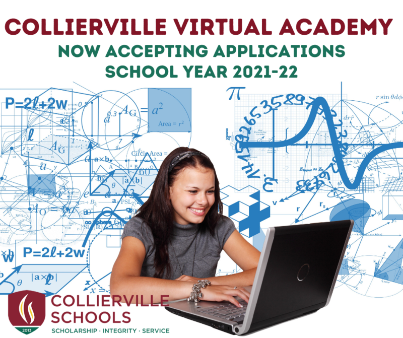 Collierville Virtual Academy Now Accepting Pre-Registration Applications, 2021-22 School Year. Featured Photo
