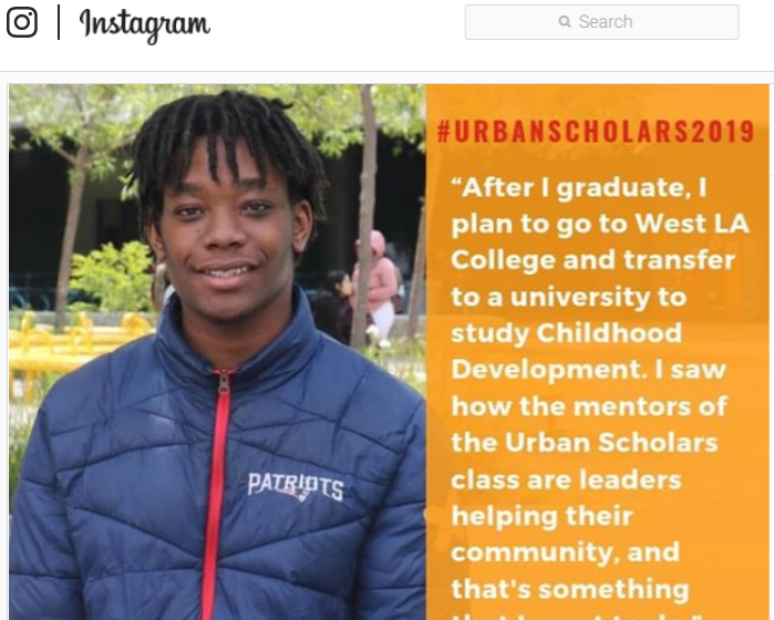 #UrbanScholar2019 Featured Photo