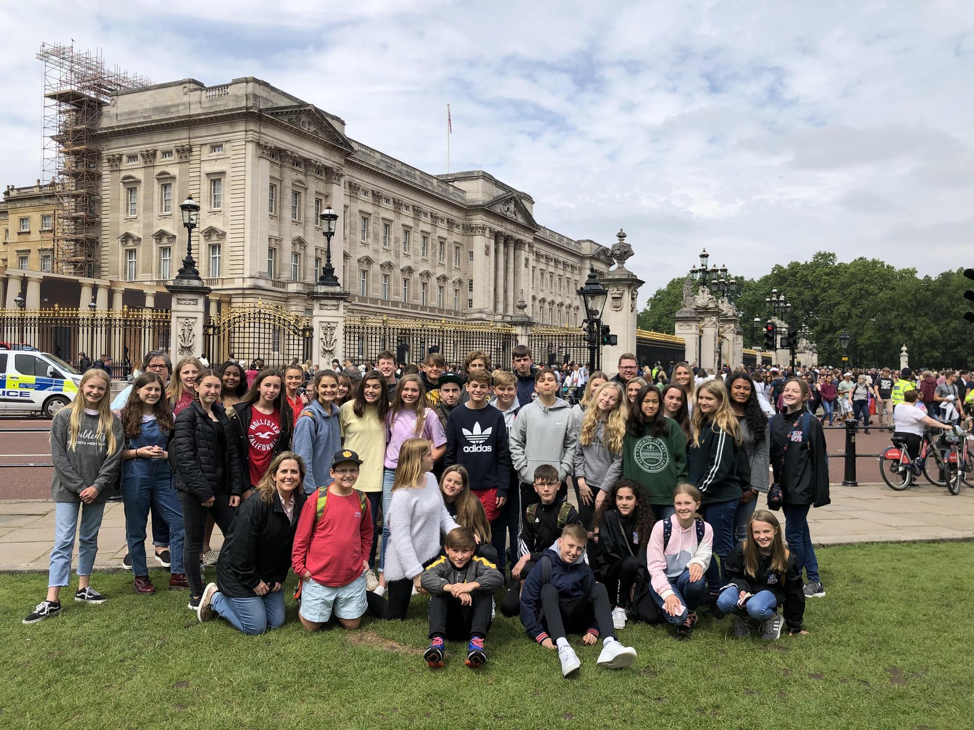 VMS ASL Program at Buckingham Palace