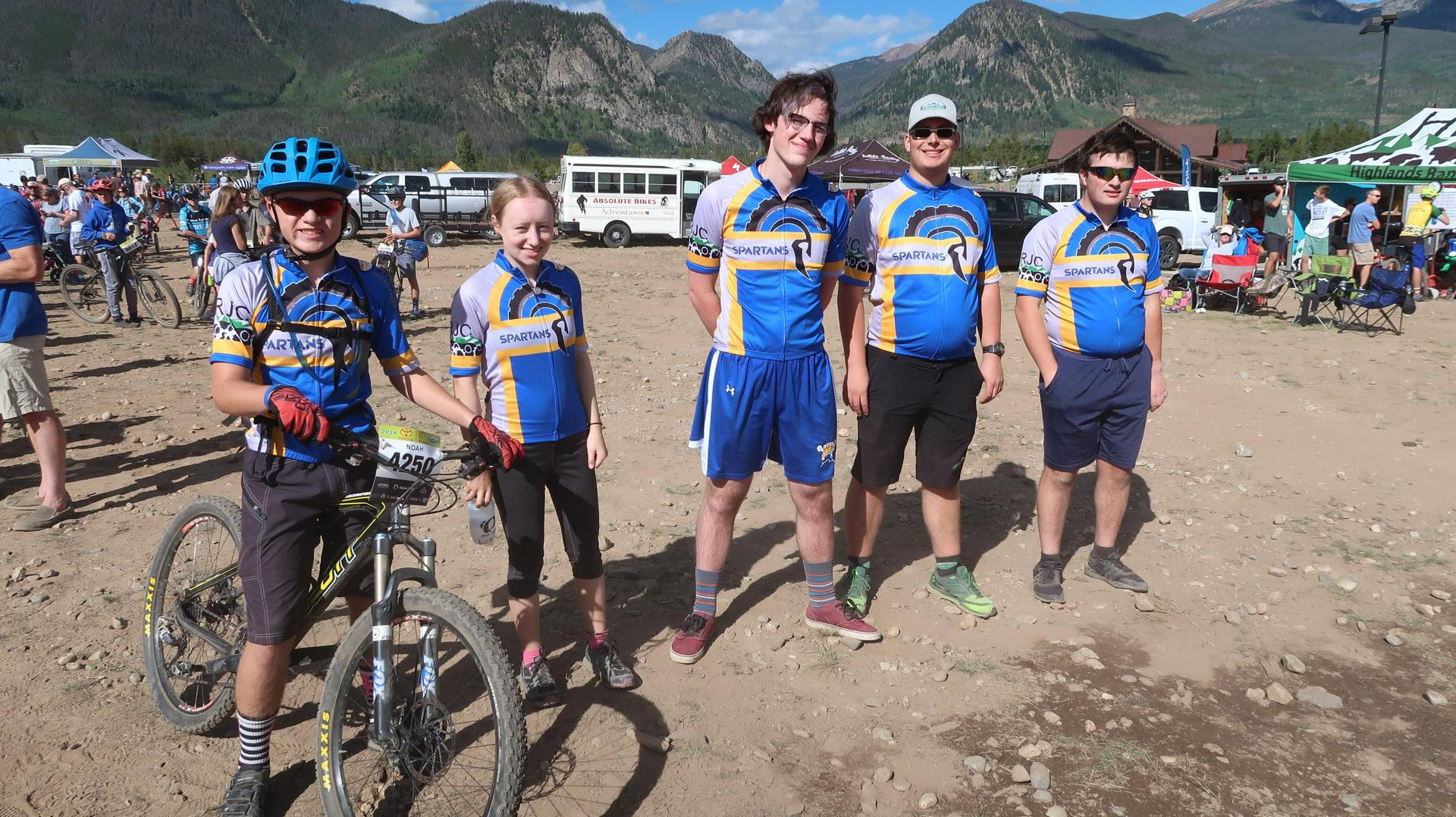 STEM HS Mountain Bikers