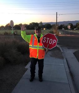 We offer our deepest thanks to Homer Galloway, a crossing guard at Harrison School.
