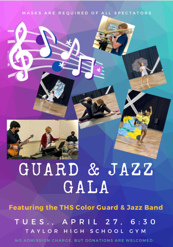 Poster for Guard and Jazz Gala