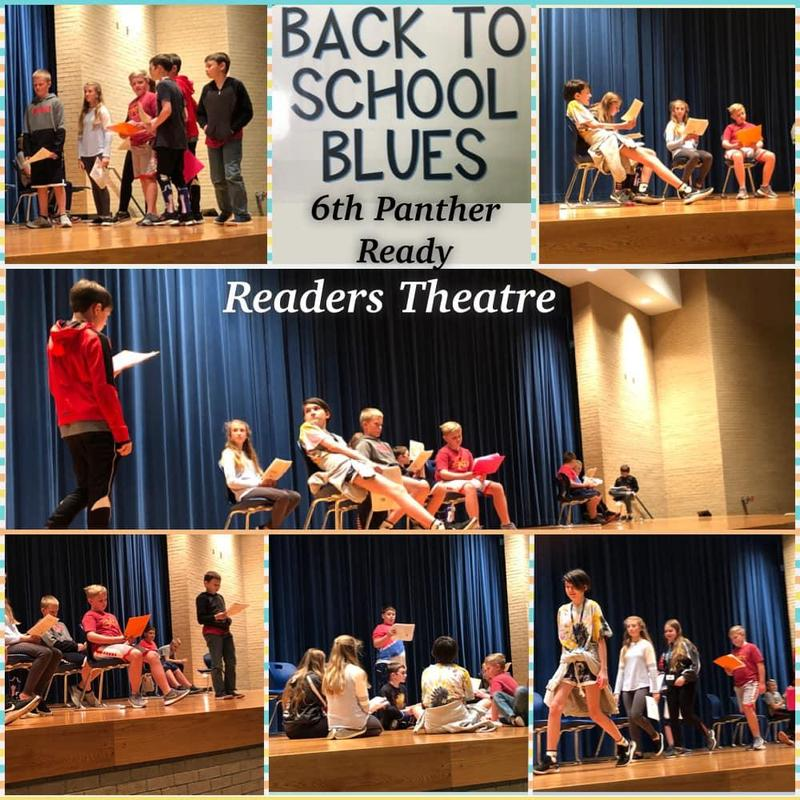 6th Grade Panther Ready Students Use Readers Theatre Featured Photo