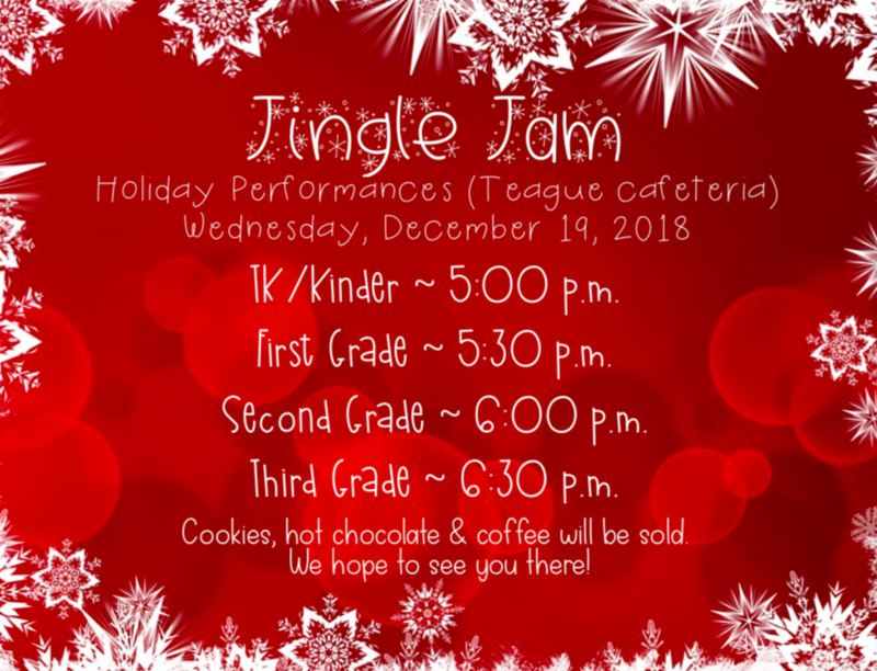 Jingle Jam Flyer