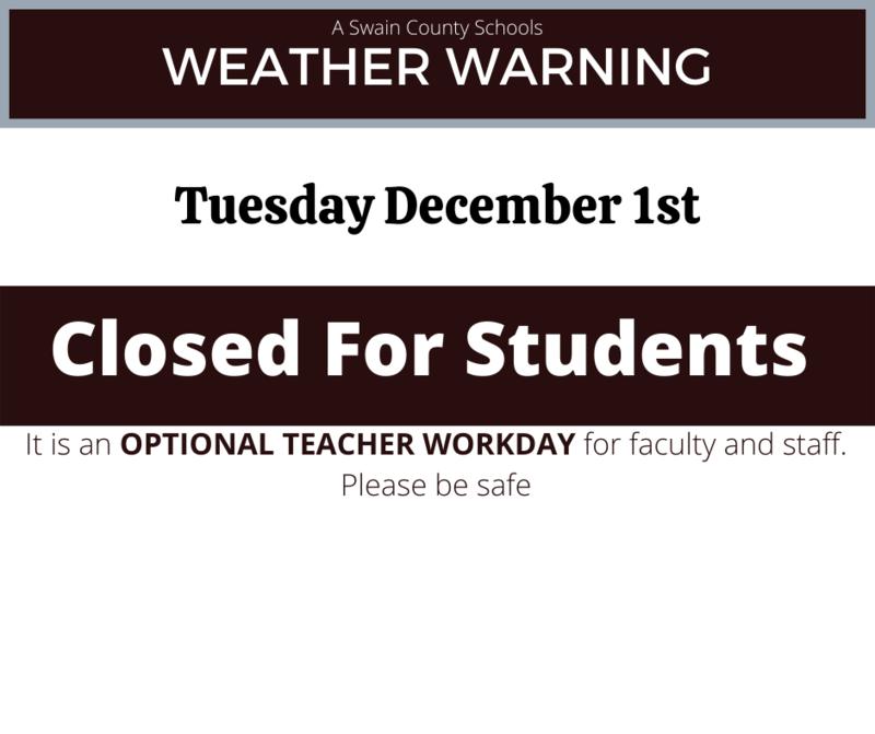 Optional Teacher Workday December 1
