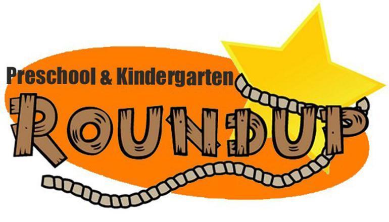 PreK and Kindergaren roundUp with lassoo
