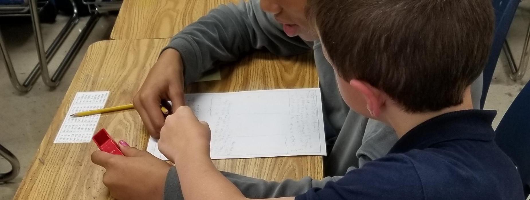Peer Editing - 4th Grade