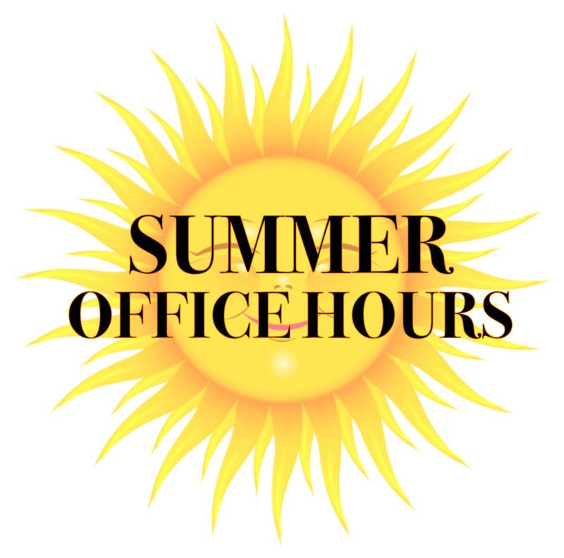 Summer Office Hours! Featured Photo