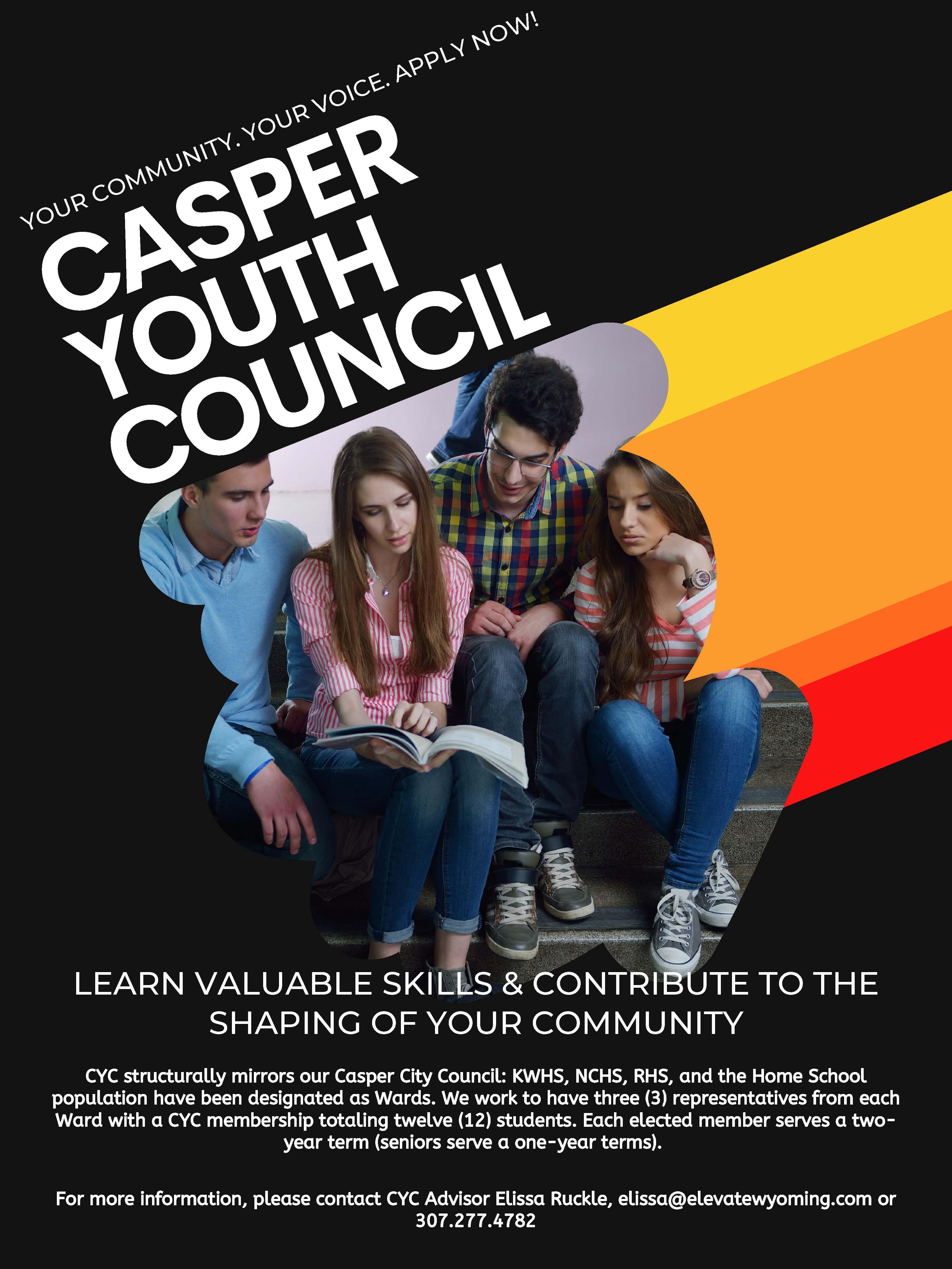 Casper Youth Council Flyer