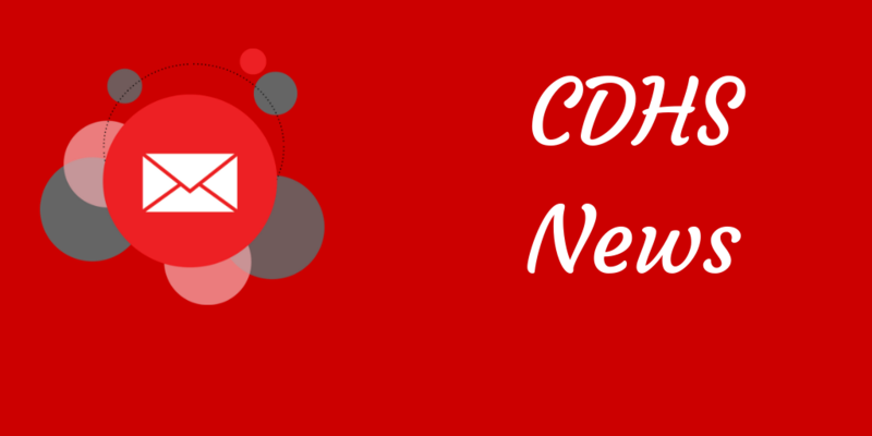 CDHS Weekly Update June 3, 2019